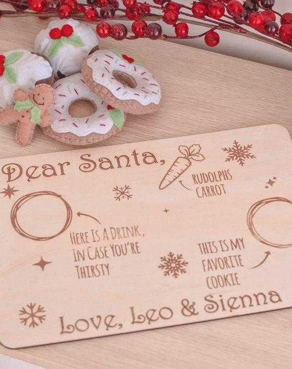 Timber Tinkers - Santa Tray