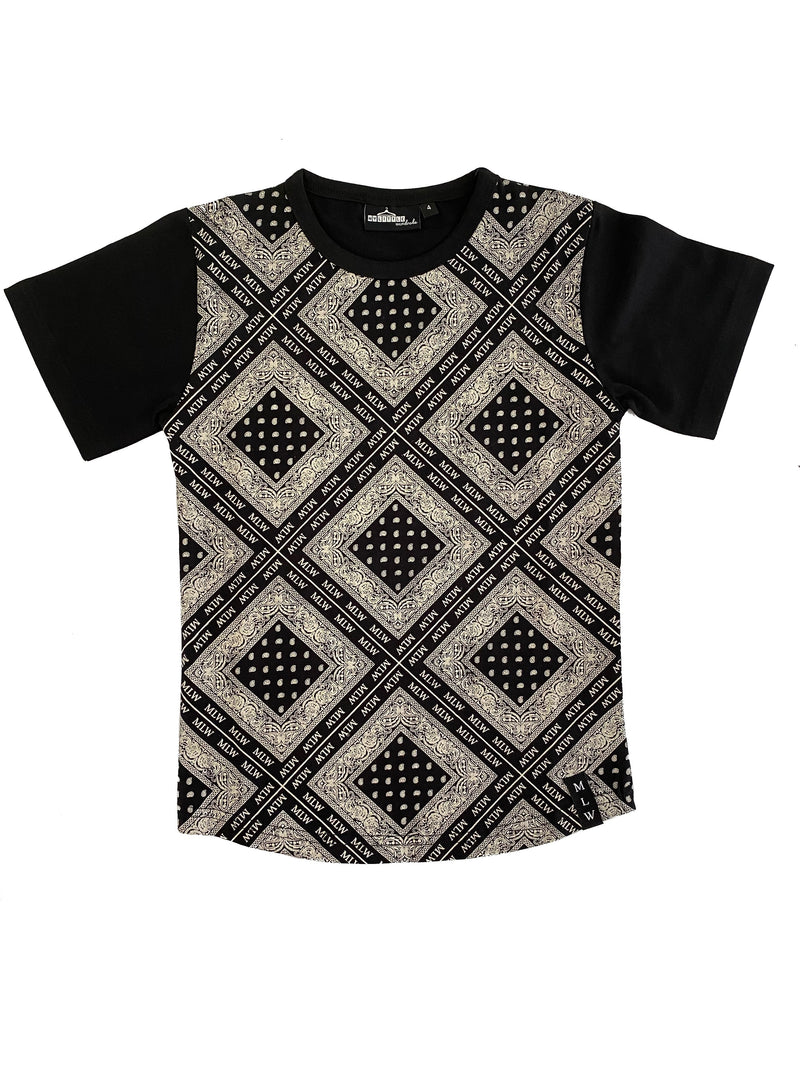MLW By Design - Branded Bandana Tee