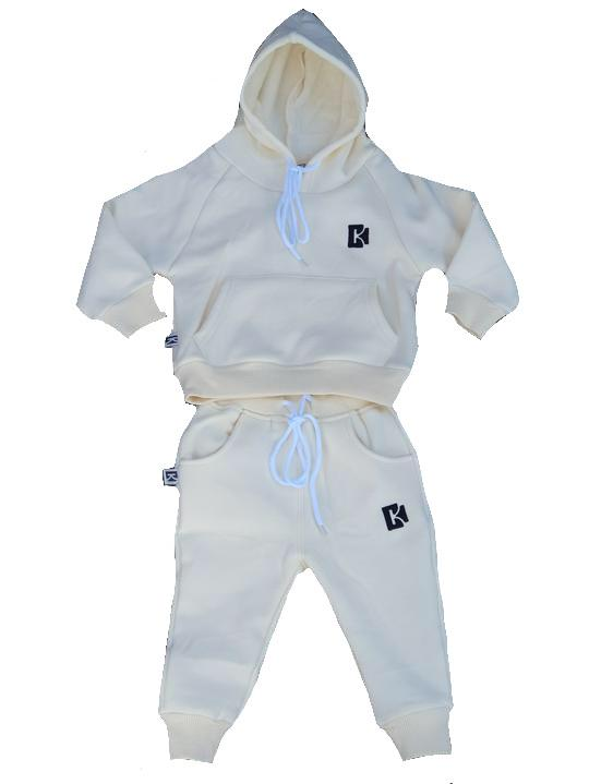 Carrington Kids - Tracksuit Set Cream