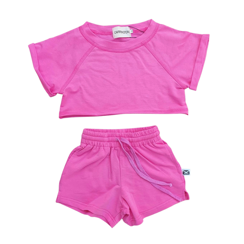 Carrington Kids - Crop Set | Pink