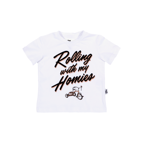 The Little Homie - Homie Tee | White