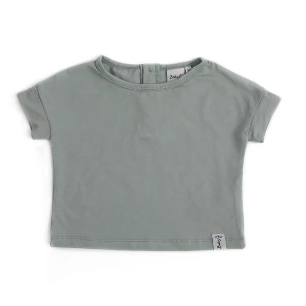 Bobby G Baby Wear - Spring Tee Sea Foam Blue