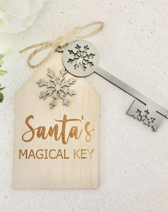 Timber Tinkers - Santa's Magical Key