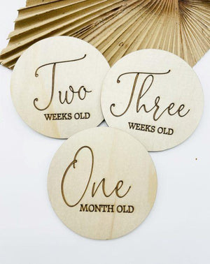 Timber Tinkers - Classic Wooden Milestones