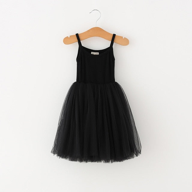 Ballerina Like Dress | Black