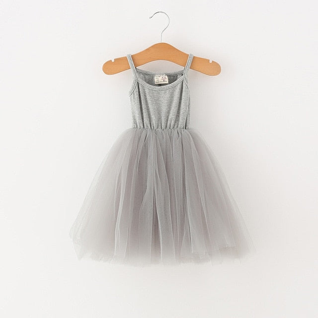 Ballerina Like Dress | Grey