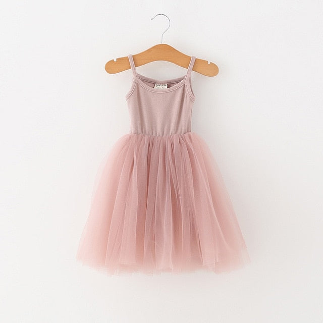 Ballerina Like Dress | Dusky Pink