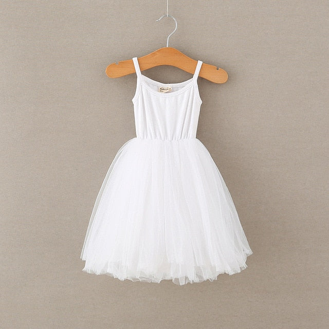 Ballerina Like Dress | White