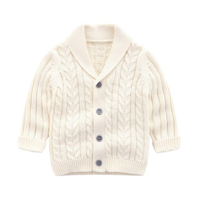 Oxford Knit Cardigan | Cream
