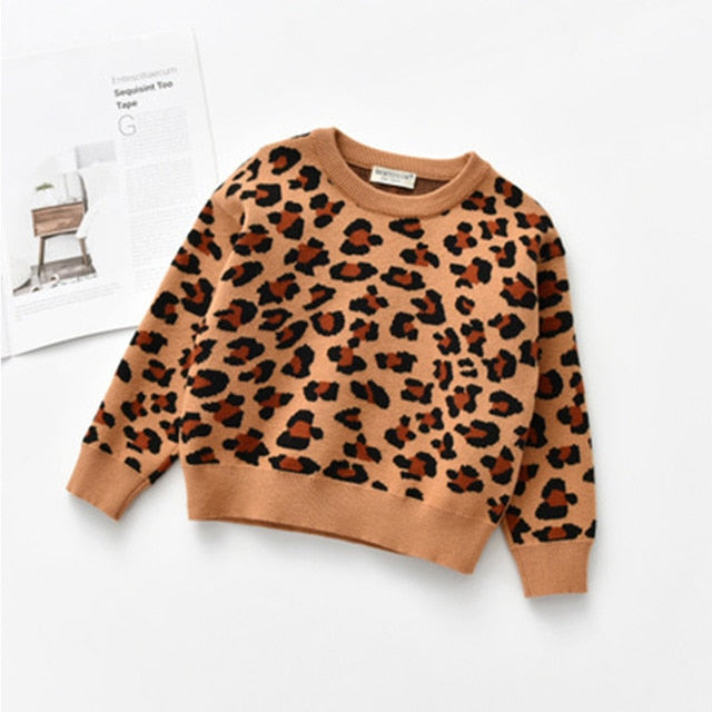Lady Leopard Jumper