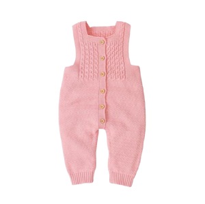 Knit Jumpsuit | Pink