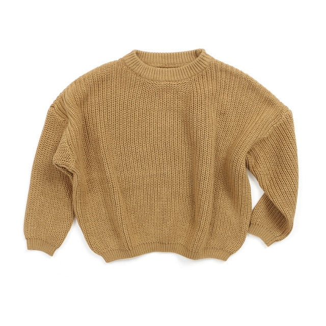 Cuddly Knit Sweater | Brown