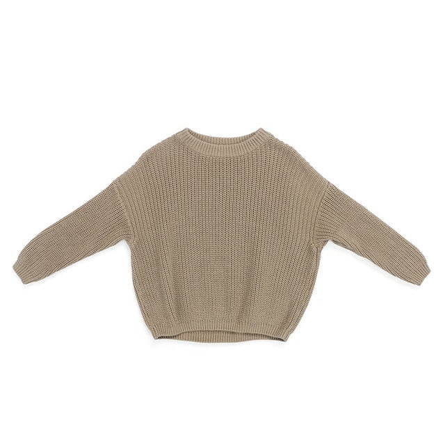 Cuddly Knit Sweater | Cement