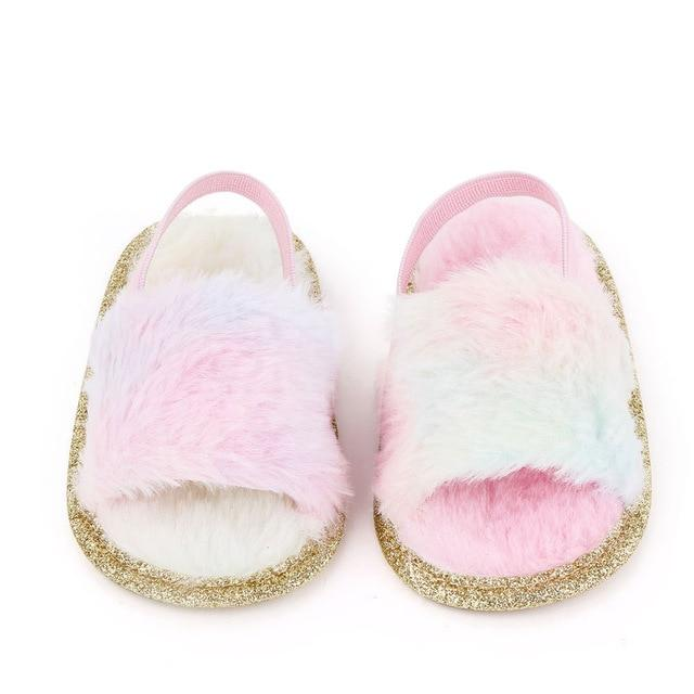 Fluffy Slides | Fairy Floss