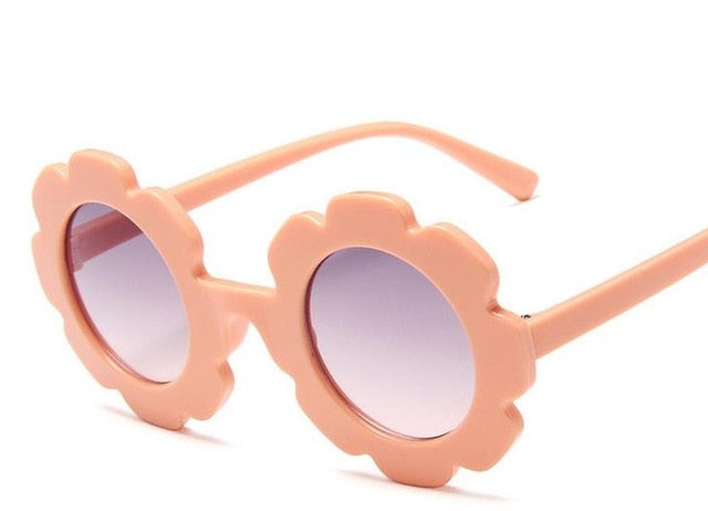 Flower Sunglasses | Peach