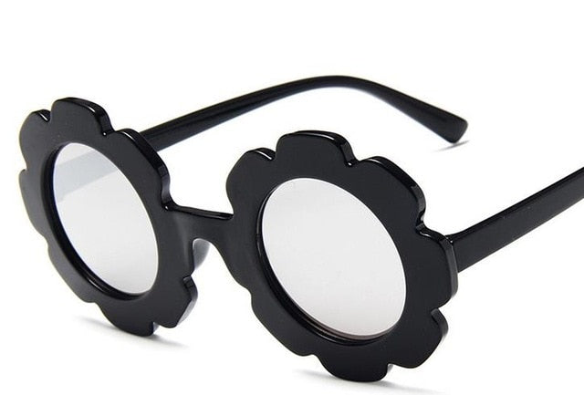 Flower Sunglasses | Black