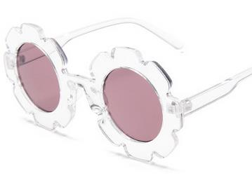 Flower Sunglasses | Clear