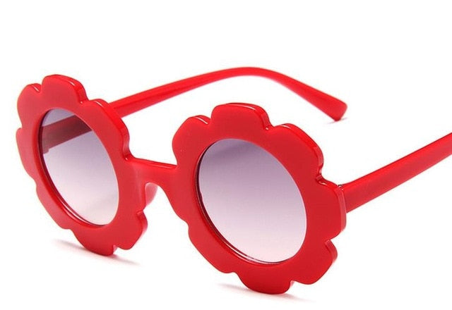 Flower Sunglasses | Red