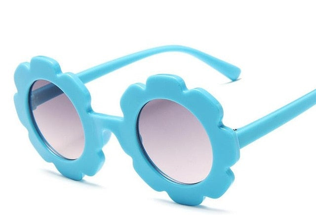 Flower Sunglasses | Baby Blue