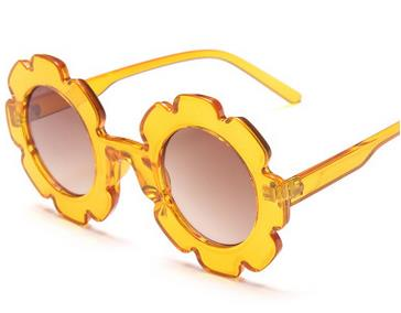 Flower Sunglasses | Yellow
