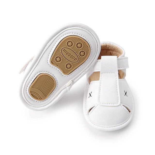Cross Summer Sandals | White