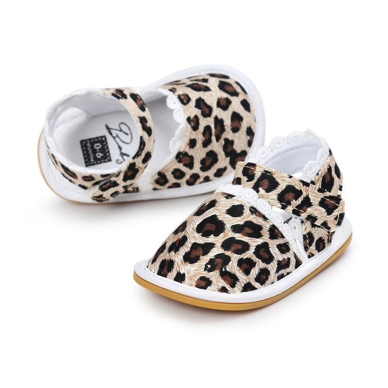 Summer Girly Sandals | Leopard