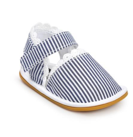 Summer Girly Sandals | Stripes