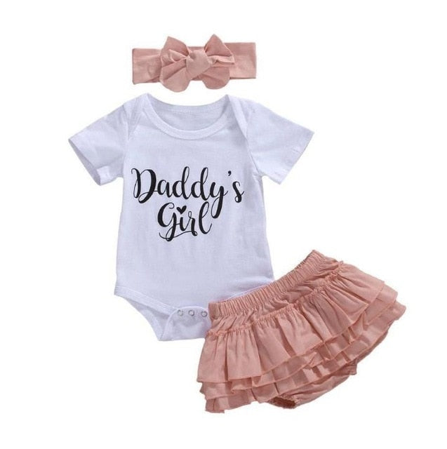 Daddy's Girl Bloomer Set