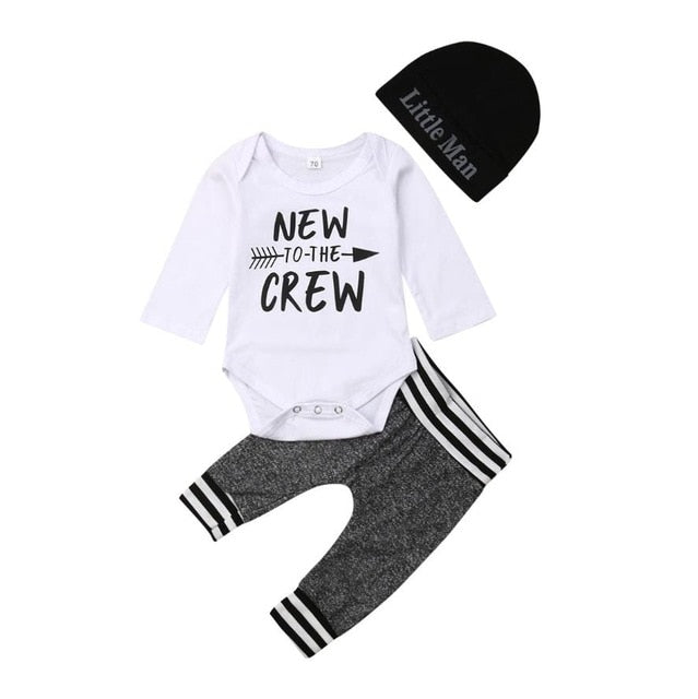 Crew Long Sleeve Set