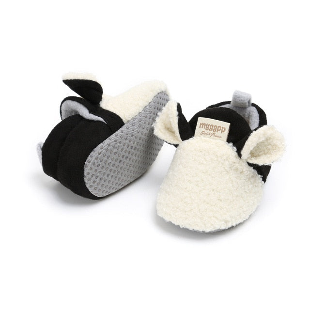 Animal Slippers | White