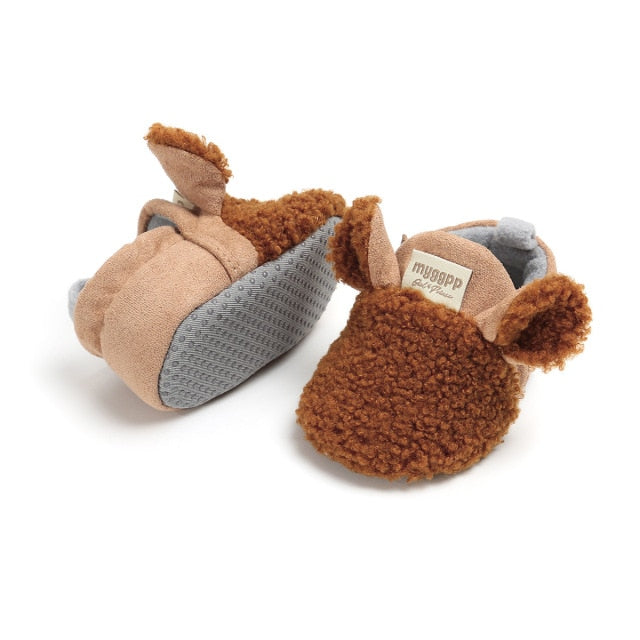 Animal Slippers | Brown