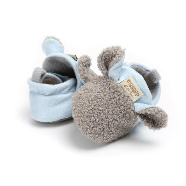 Animal Slippers | Grey