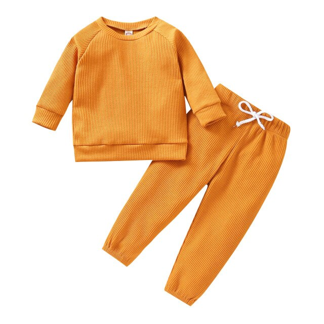 Ribbed Set | Mustard