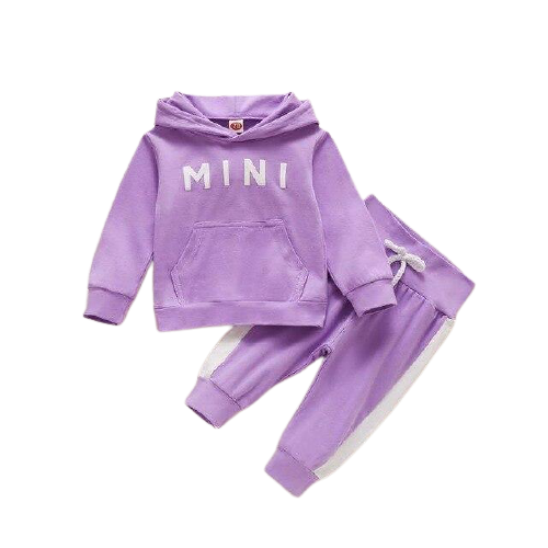 Mini Tracksuit | Purple