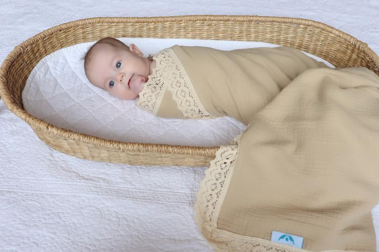 Kute Cuddles - Heirloom Swaddle - Sand