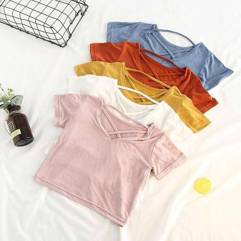 V-Neck Tees | 5 Colours | CLEARANCE