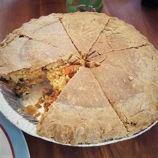 Tourtière Végé-Éco-Local au millet