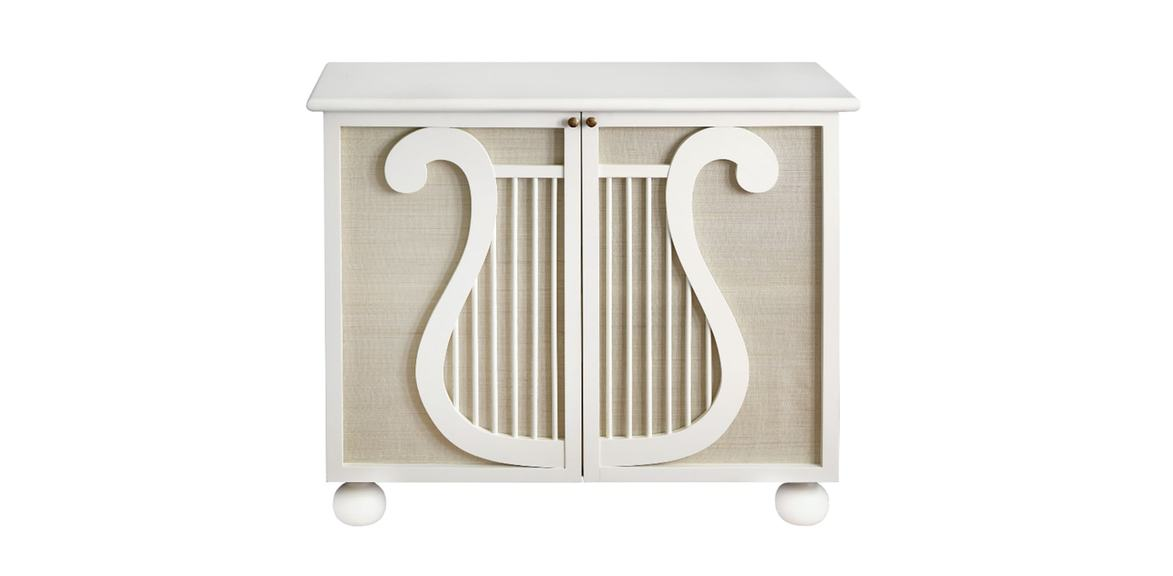 Lyre Cabinet