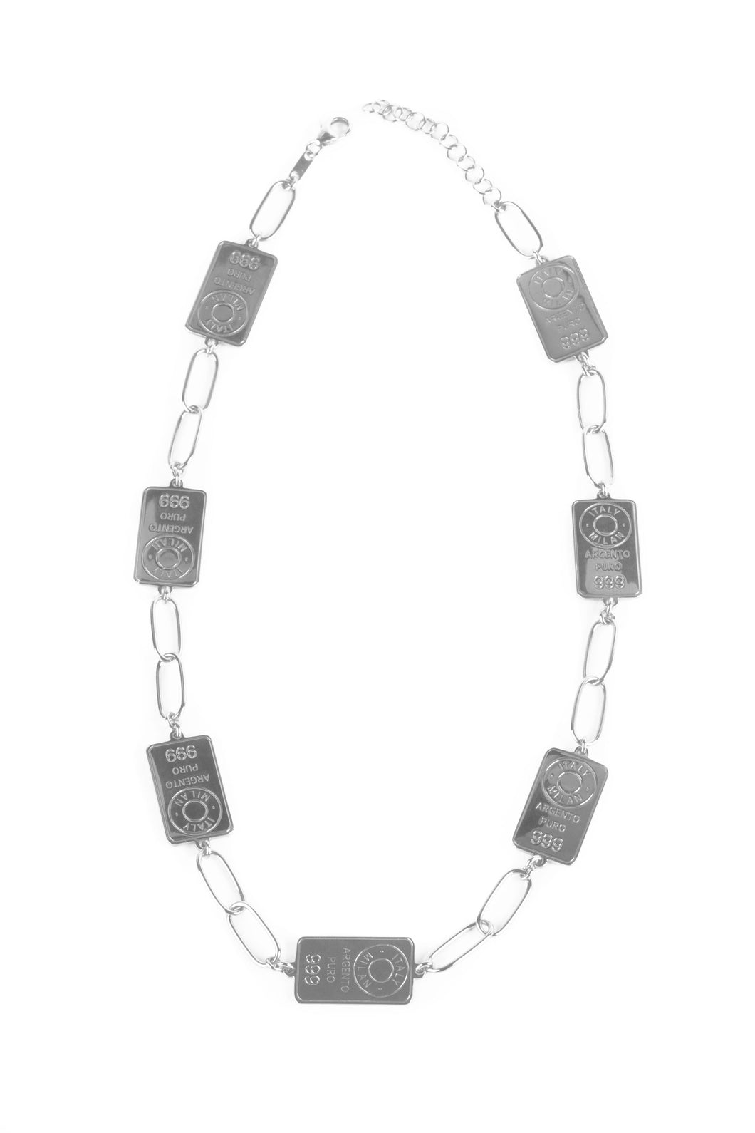 Chain Silver Necklace