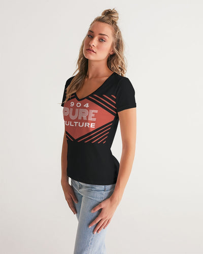 Pure Culture Women's V-Neck Tee