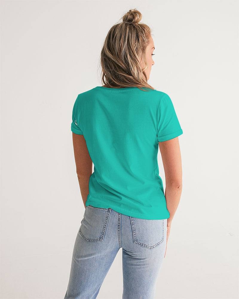 Pure904 Florida Mint Women's V-Neck Tee