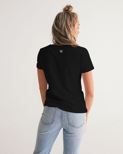 Jagflower Women's V-Neck Tee