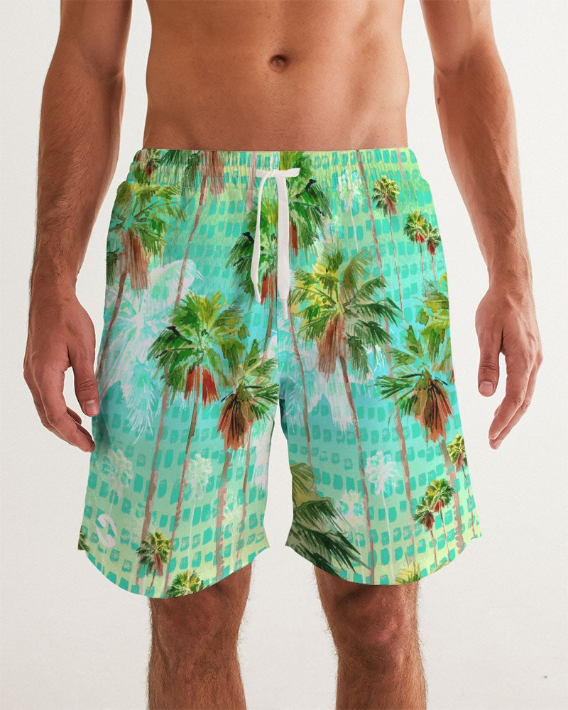 Pure904 Palm Men's Swim Trunk