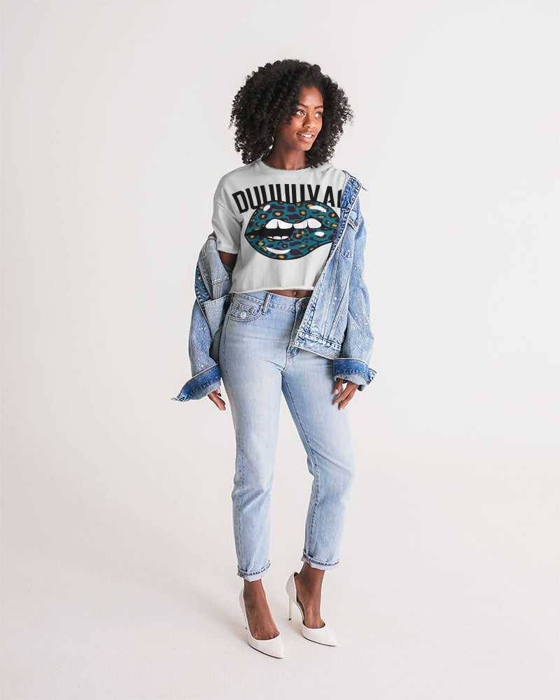 Pure904 Jags LipPrint 2 Women's Lounge Cropped Tee