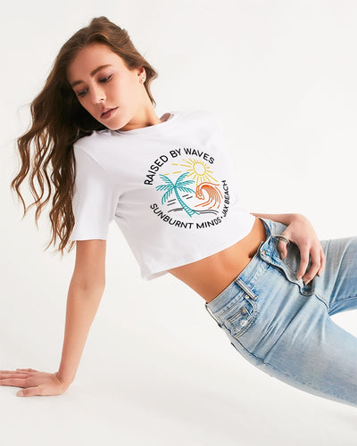 Sunburnt Minds Women's Cropped Tee