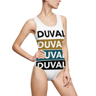 Duval. Women's Classic One-Piece Swimsuit