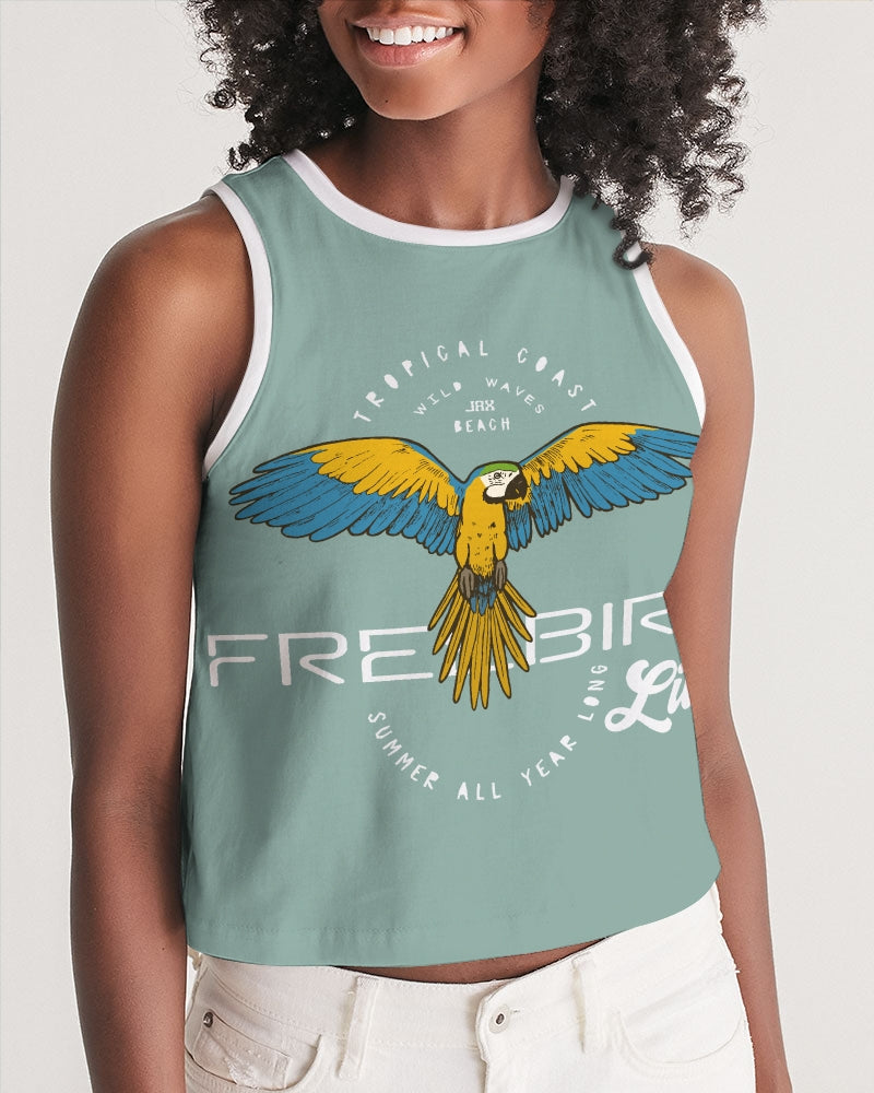 Freebird Live Women's Cropped Tank