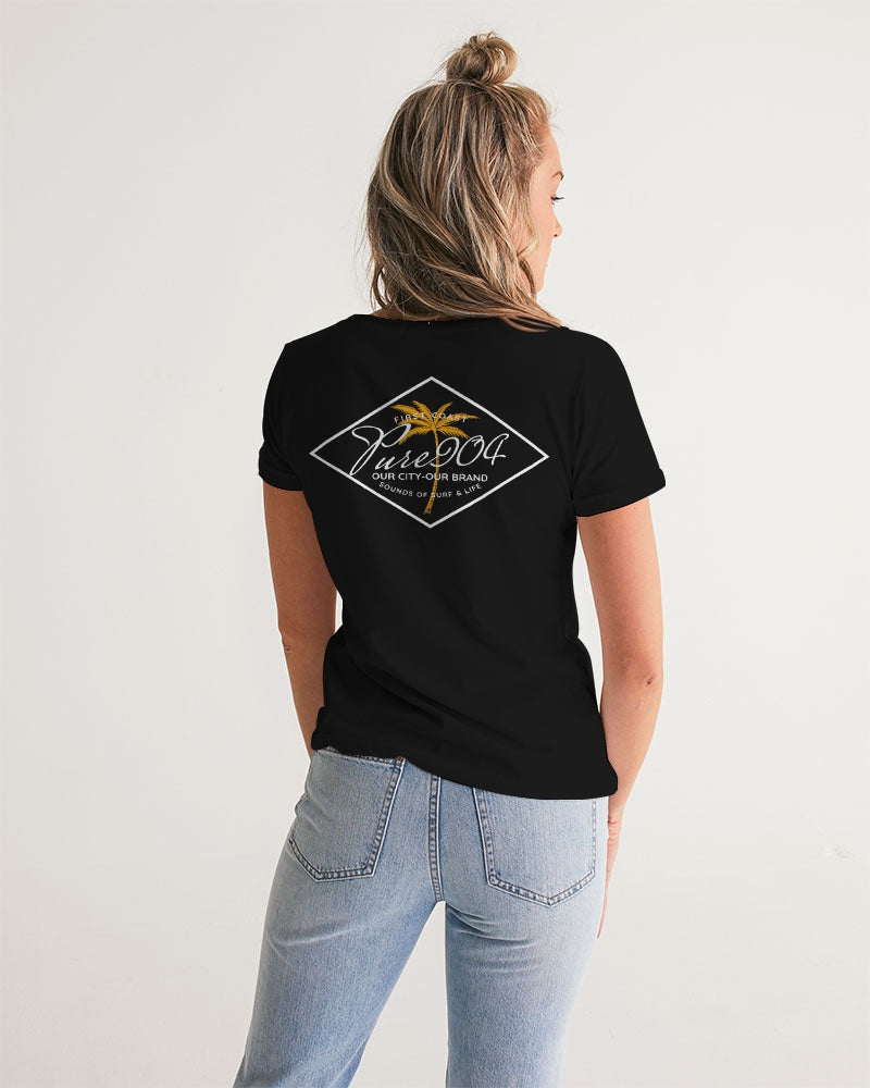 Our City Our Brand Women's V-Neck Tee