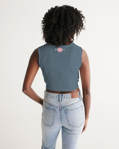 Pure Flamingo Women's Twist-Front Tank