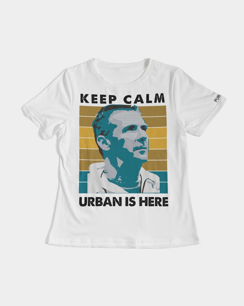 Keep Calm Urban Is Here Women's Tee